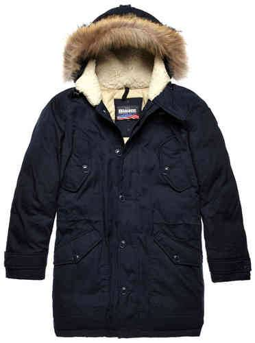 Blauer USA Feather Padded Untuvatakki Sininen