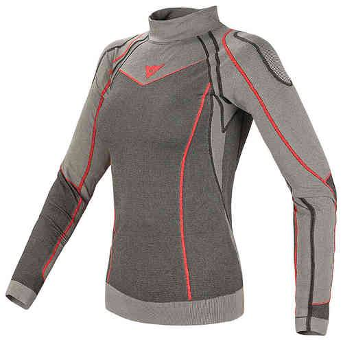 Dainese Evolution Warm Shirt Lady Vaaleanharmaa