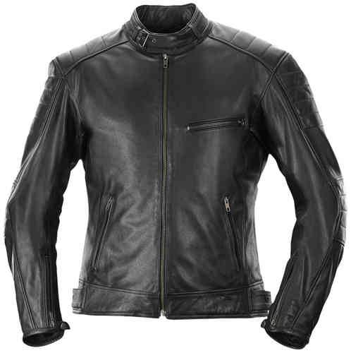Büse Brooklyn Leather Jacket Musta