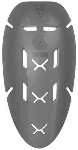 Forcefield Isolator PU L1 Arm Armour Harmaa
