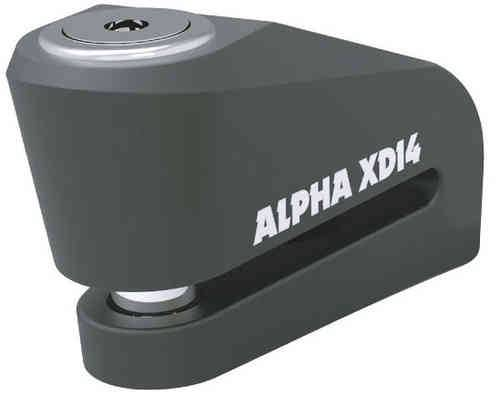 Oxford Alpha XD14 Stainless (14mm Pin) Musta