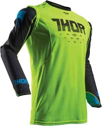 Thor Prime Fit Rohl Jersey Vihreä/musta