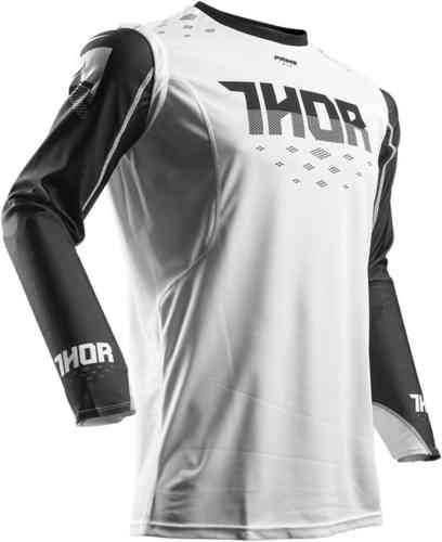 Thor Prime Fit Rohl Jersey Valkoinen/musta