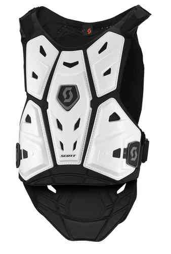 Scott Commander 2 Junior Body Armor Valkoinen