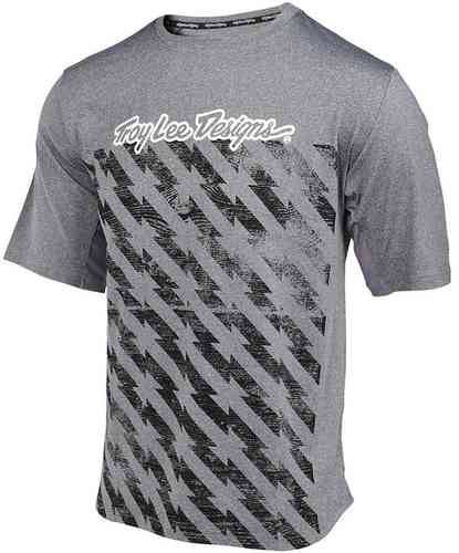 Troy Lee Designs Compound Bolt SS Jersey Harmaa