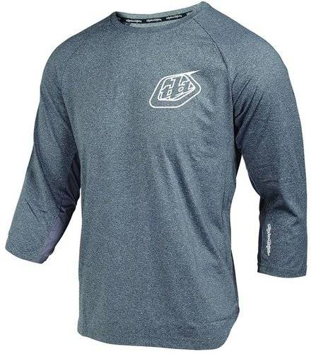 Troy Lee Designs Compound Bolt 3/4 Jersey Harmaa