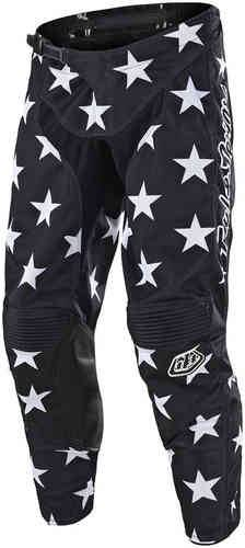 Troy Lee Designs GP Star Pant Musta/valkoinen