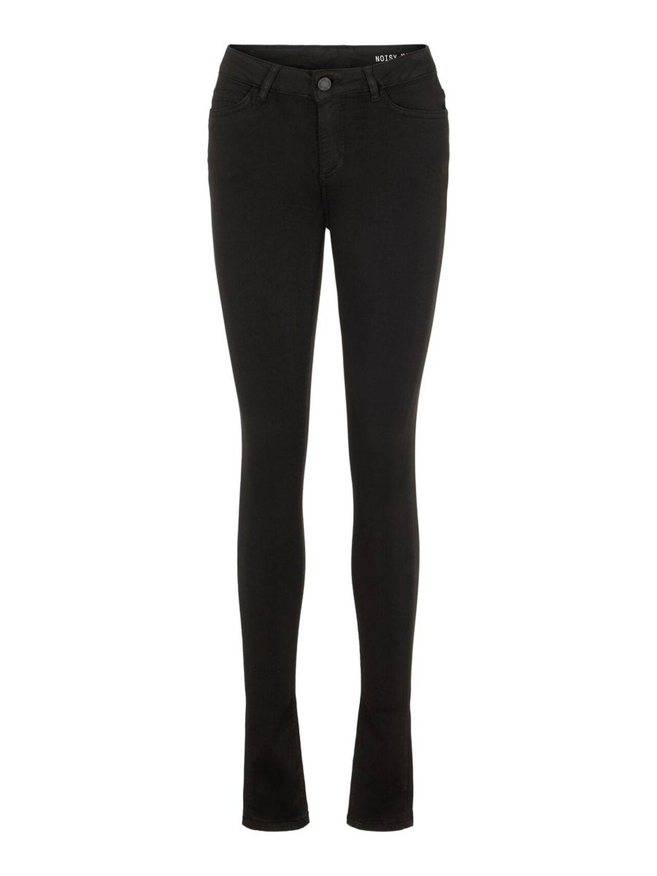NOISY MAY Lucy Nw Power Shape Skinny Fit Jeans Women Black