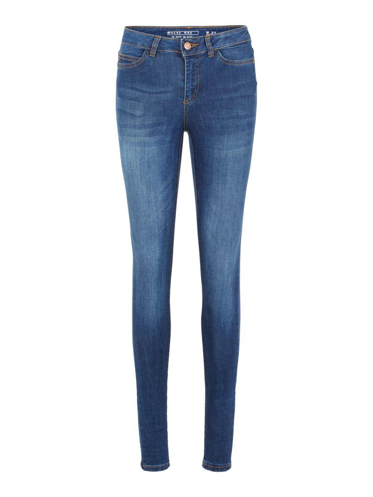 NOISY MAY Lucy Nw Power Shape Skinny Fit Jeans Women Blue