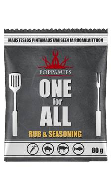 Poppamies ONE FOR ALL Rub & Seasoning