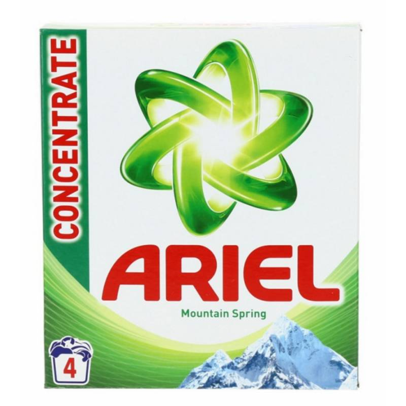 Ariel Washing Powder Mountain Spring 300 g Pesujauhe