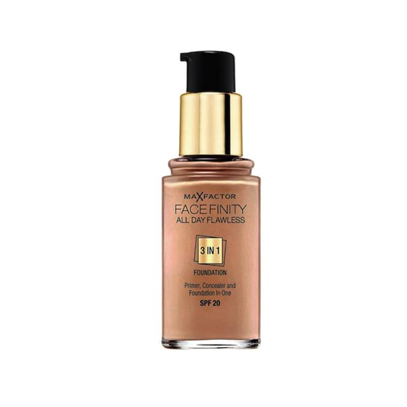 Max Factor Facefinity All Day Flawless 100 Caramel 30 ml Meikkivoide