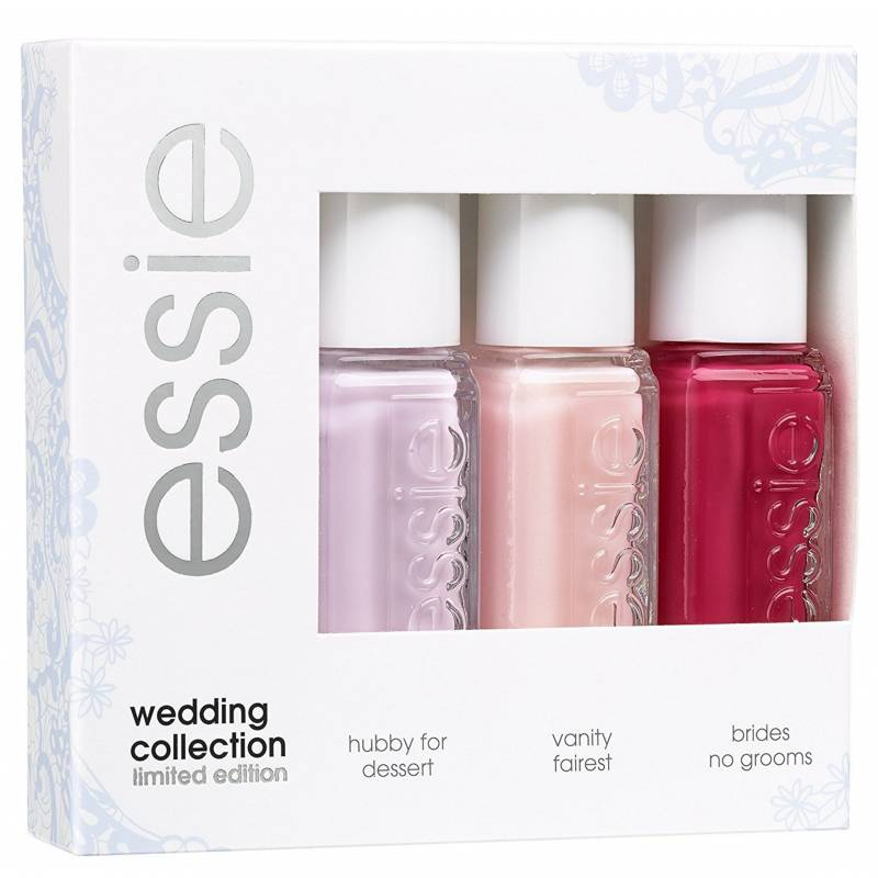 Essie Nail Polish 3 Piece Set Wedding Collection 3 x 5 ml Kynsilakka