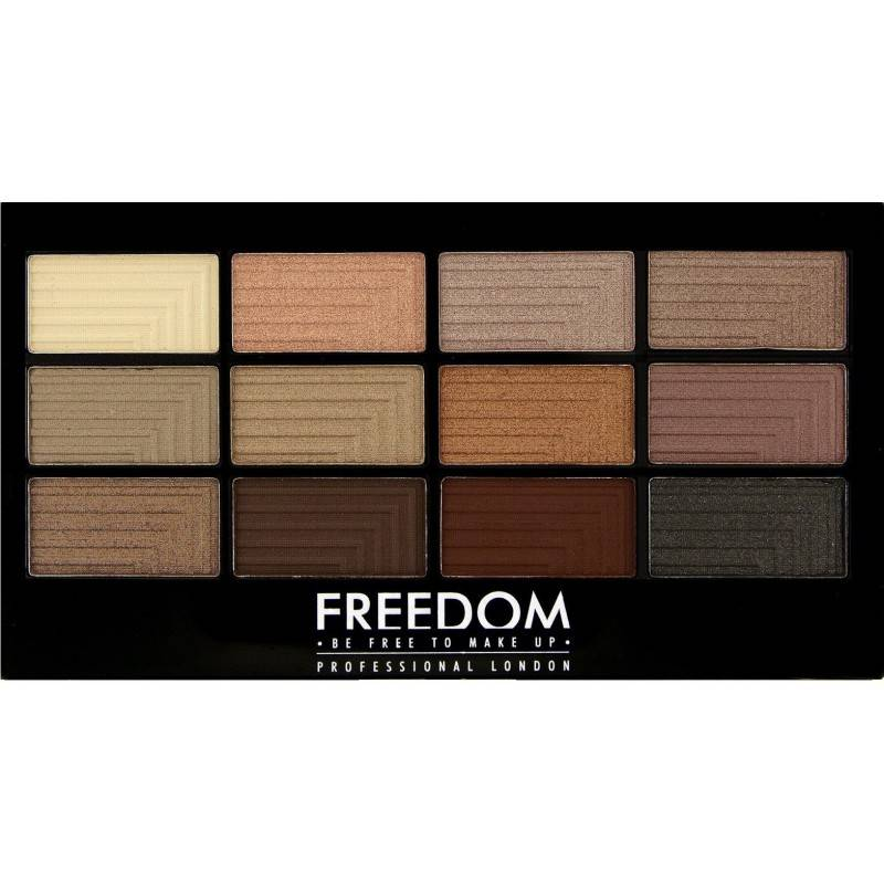 Freedom Makeup Pro Eyeshadow Palette Le Fabuleux 12 g Luomiväri
