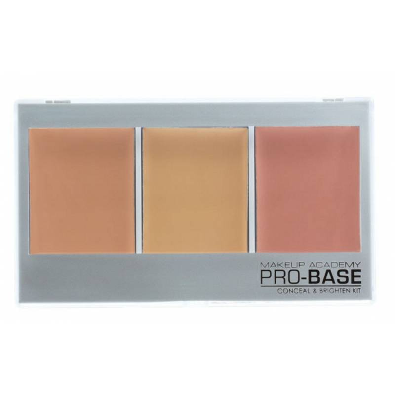 MUA Makeup Academy Pro-Base Conceal & Brighten Kit Porcelain Beige 11 g Make-Up Palette