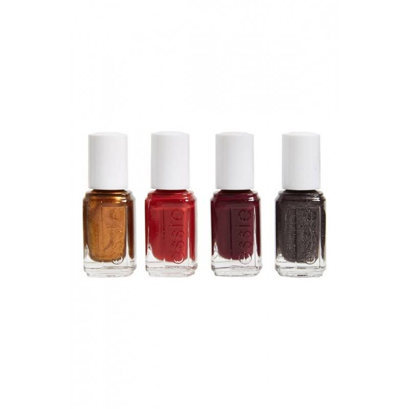 Essie Nail Polish 4 Piece Set Fall Collection 4 x 5 ml Kynsilakka