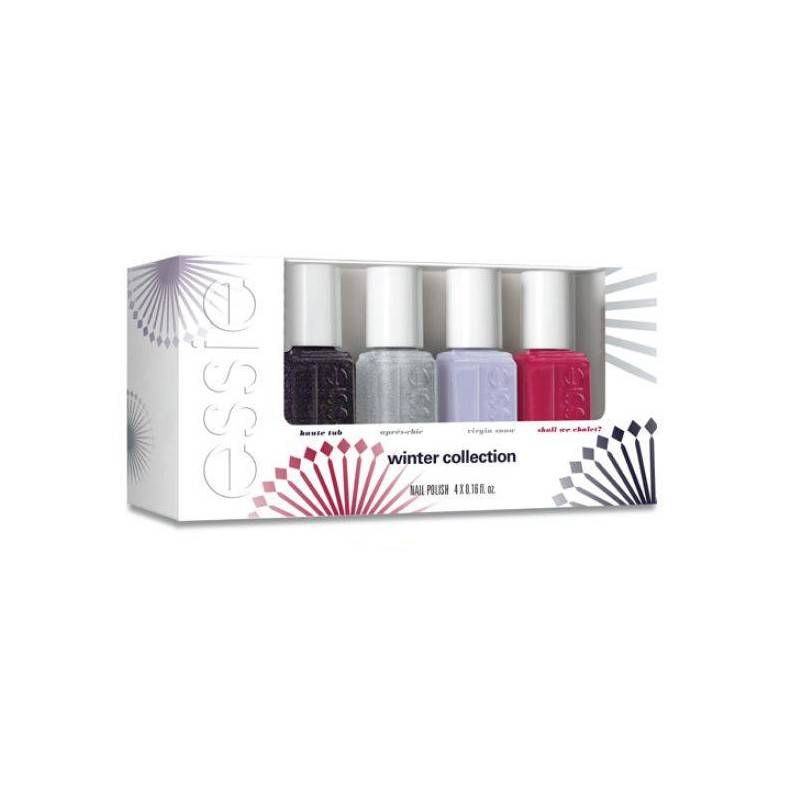 Essie Nail Polish 4 Piece Set Winter Collection 4 x 5 ml Kynsilakka