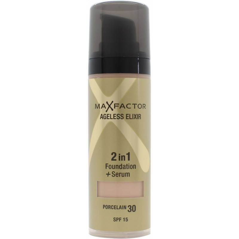 Max Factor Ageless Elixir 2 in 1 SPF15 - 30 Porcelain 30 ml Meikkivoide