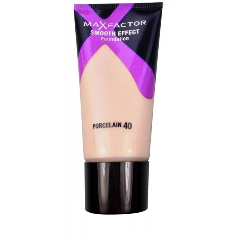 Max Factor Smooth Effect Foundation 40 Porcelain 30 ml Meikkivoide