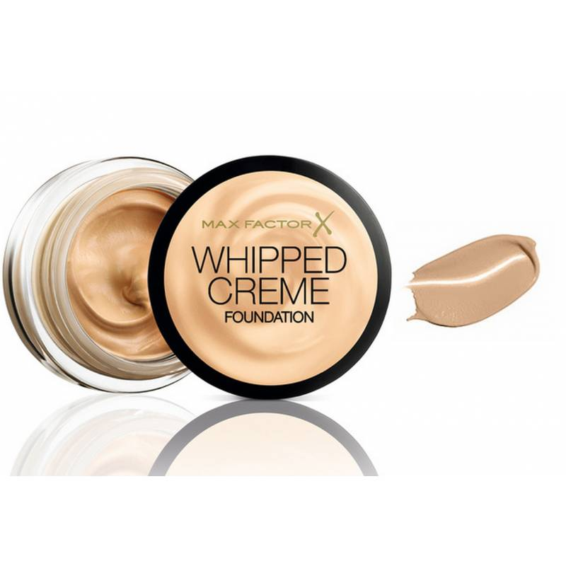 Max Factor Whipped Creme Foundation 60 Sand 18 ml Meikkivoide