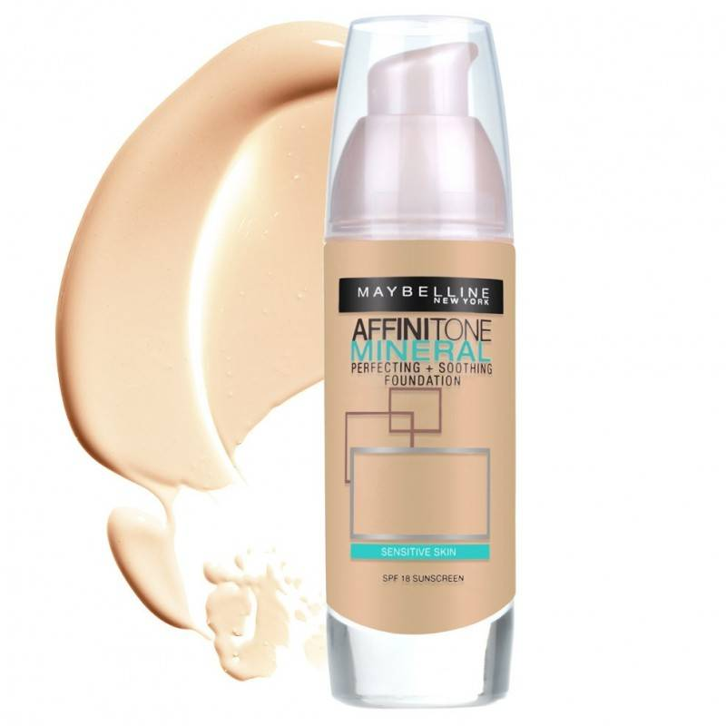 Maybelline Affinitone Mineral Foundation 40 Fawn 30 ml Meikkivoide