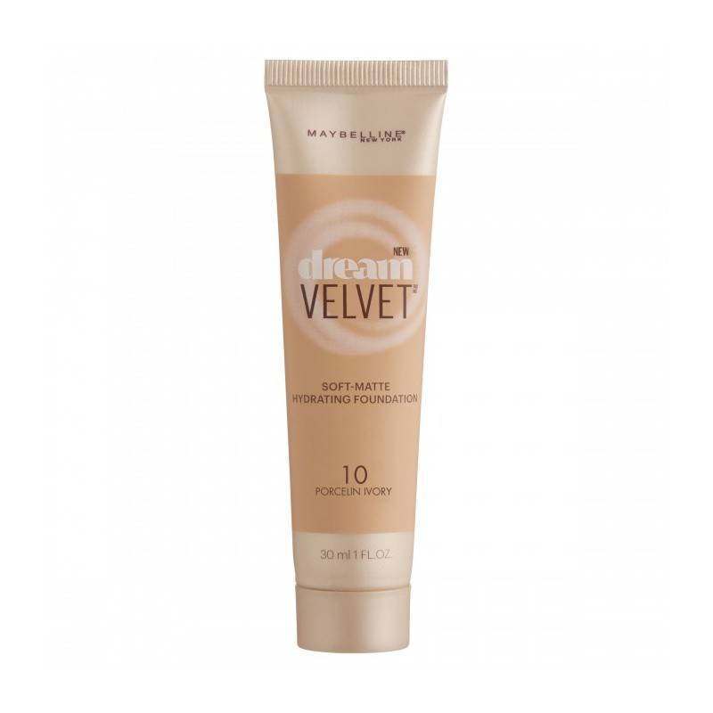Maybelline Dream Velvet Foundation 10 Porcelin Ivory 30 ml Meikkivoide