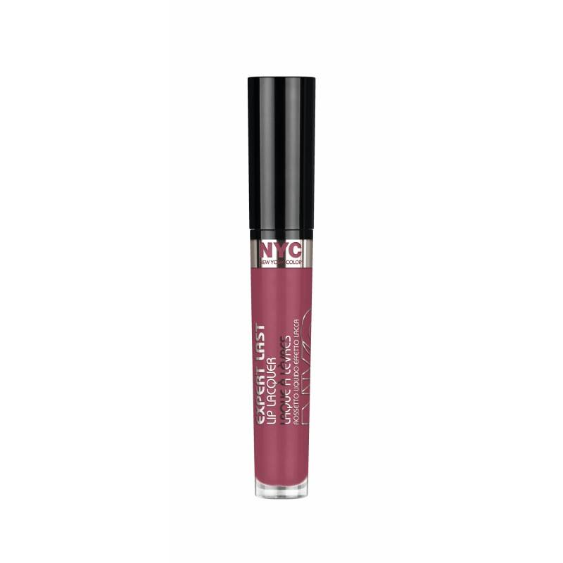 NYC Expert Last Lip Lacquer 300 Madison Square Mauve 3,7 ml Huulikiilto