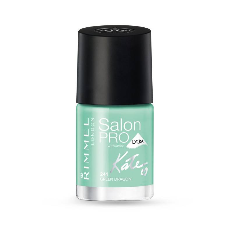 Rimmel Salon Pro By Kate Moss Nail Polish 241 Green Dragon 12 ml Kynsilakka