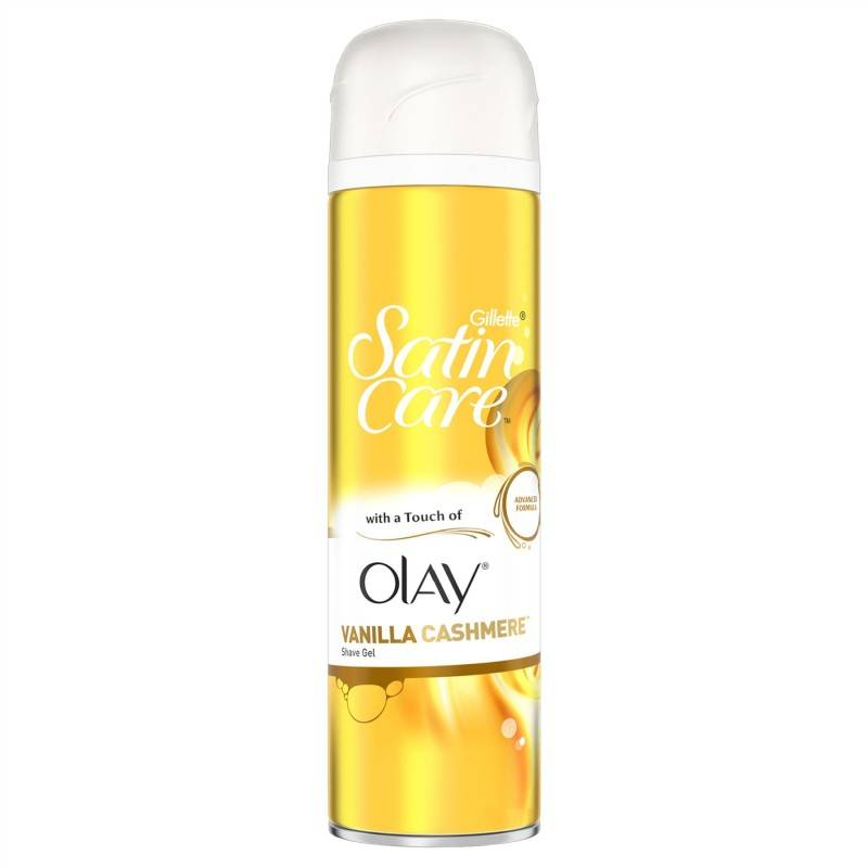 Gillette Satin Care Vanilla Cashmere Of Olay 200 ml Shaving Gel