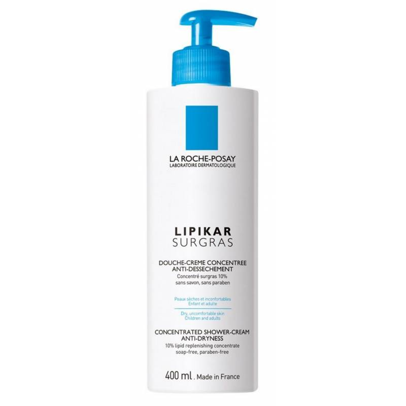 La Roche-Posay Lipikar Surgras Concentrated Shower Cream 400 ml Suihkugeeli