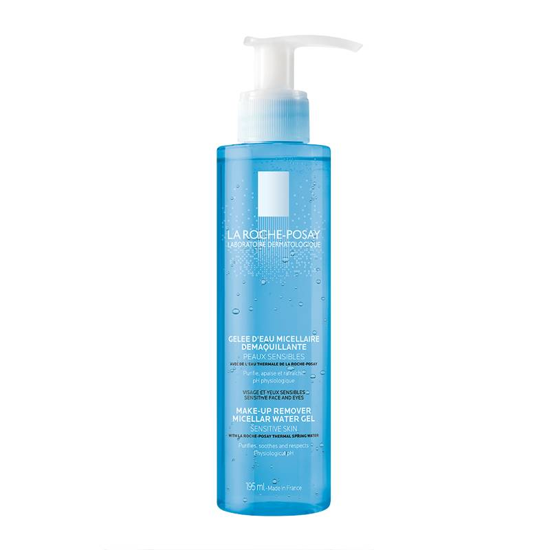 La Roche-Posay Micellar Water Gel Make Up Remover 195 ml Meikin poistoaine
