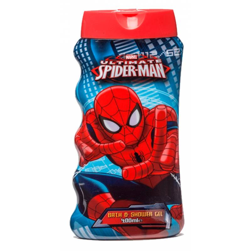 Marvel Spiderman Bath & Shower Gel 400 ml Suihkugeeli