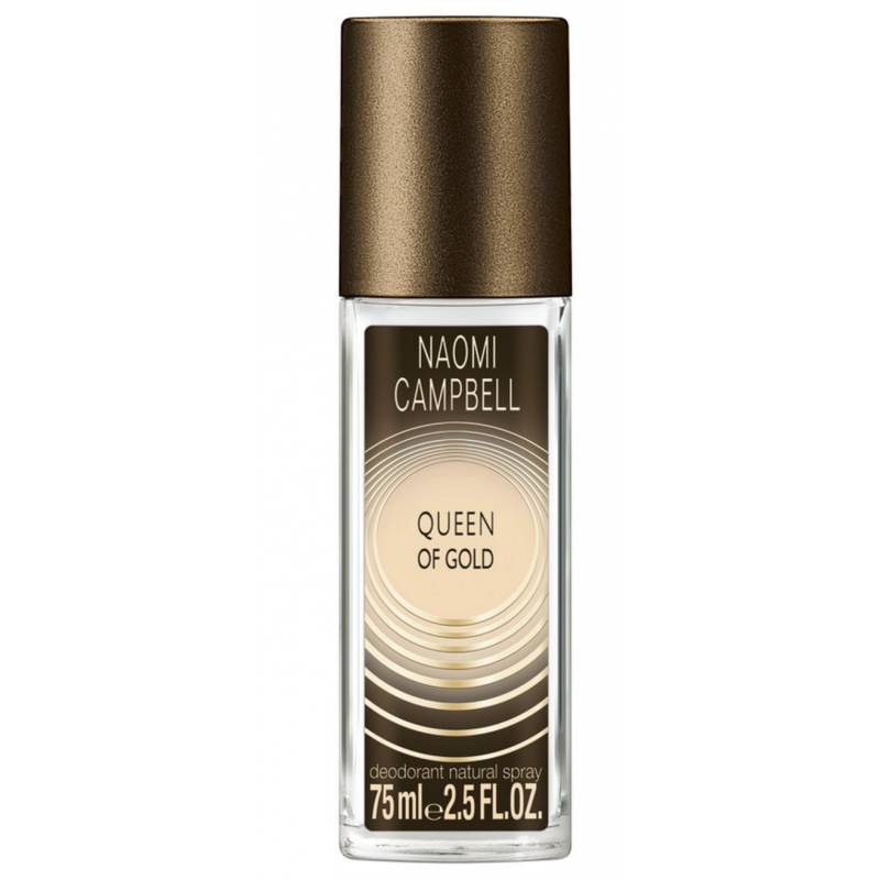 Naomi Campbell Queen Of Gold Deodorant Spray 75 ml  Deodorantti