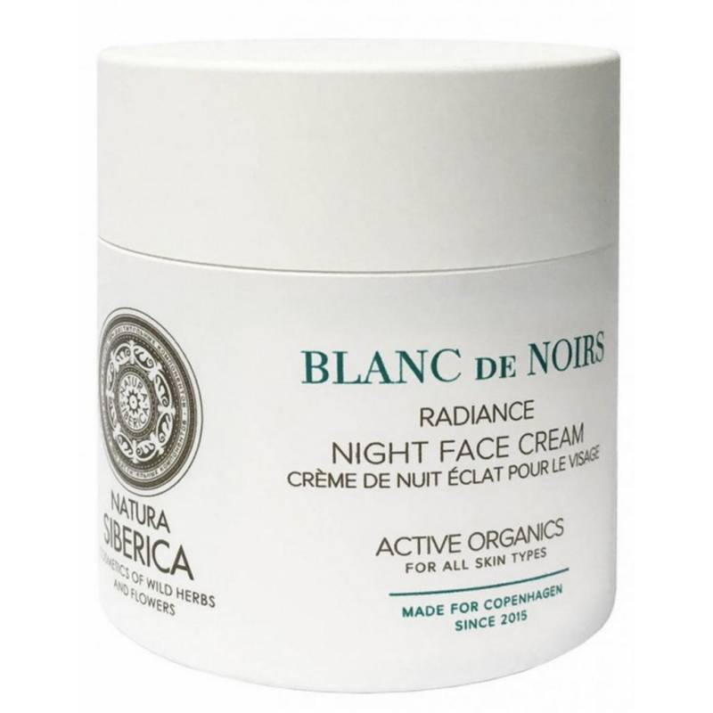 Natura Siberica Blanc De Noirs Night Face Cream 50 ml Yövoide