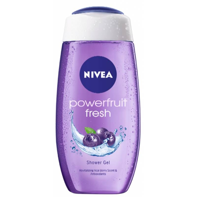 Nivea Powerfruit Fresh Shower Gel 250 ml Suihkugeeli