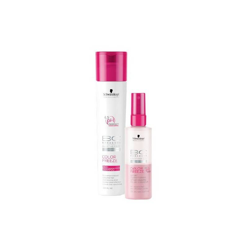 Schwarzkopf Bonacure Color Freeze 250 ml + 200 ml Lahjapakkaus