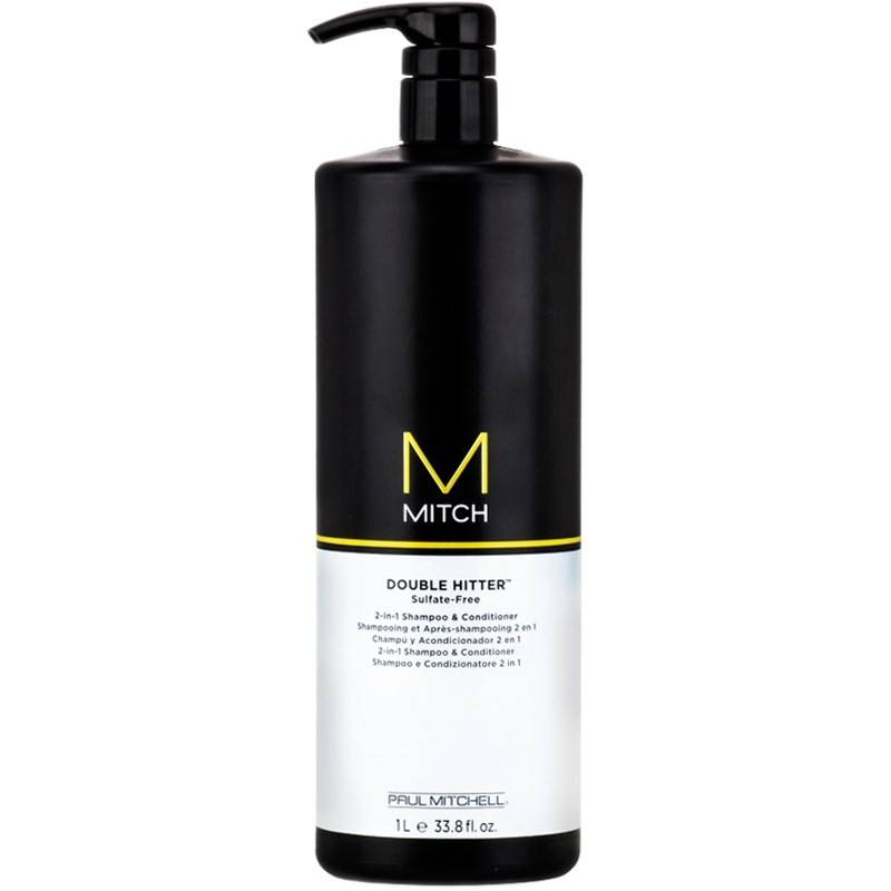 Paul Mitchell Mitch Double Hitter 2-in-1 Shampoo & Conditioner 1000 ml Shampoo ja hoitoaine