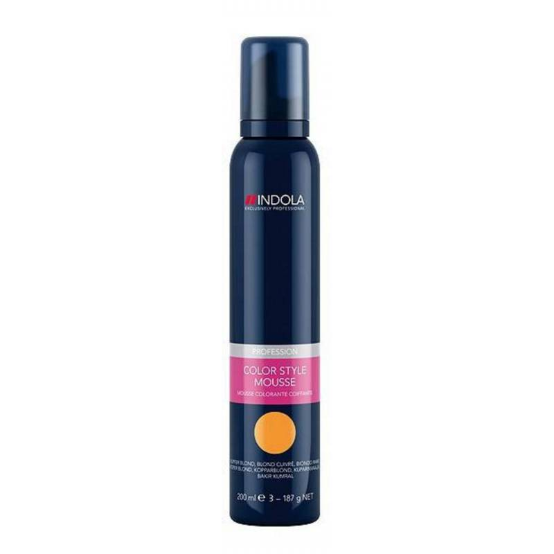 Schwarzkopf Indola Color Mousse Medium Blonde 200 ml Hiusvaahto