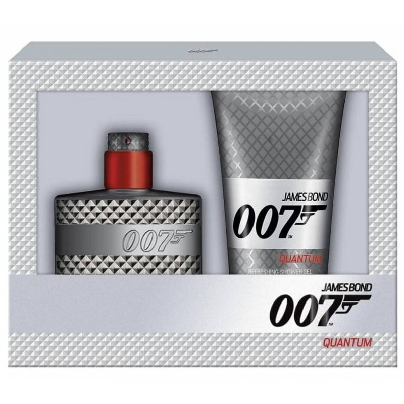 James Bond 007 Quantum EDT & Showergel 30 ml + 50 ml Lahjapakkaus