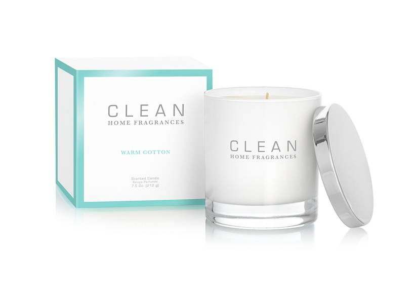 CLEAN Home Collection Warm Cotton Candle 212 g