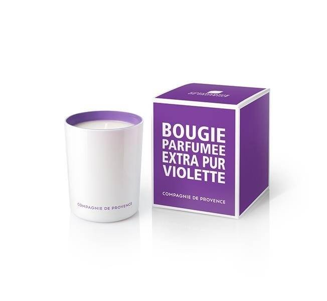 Compagnie De Provence Scented Candle 180 g – Sweet Violet
