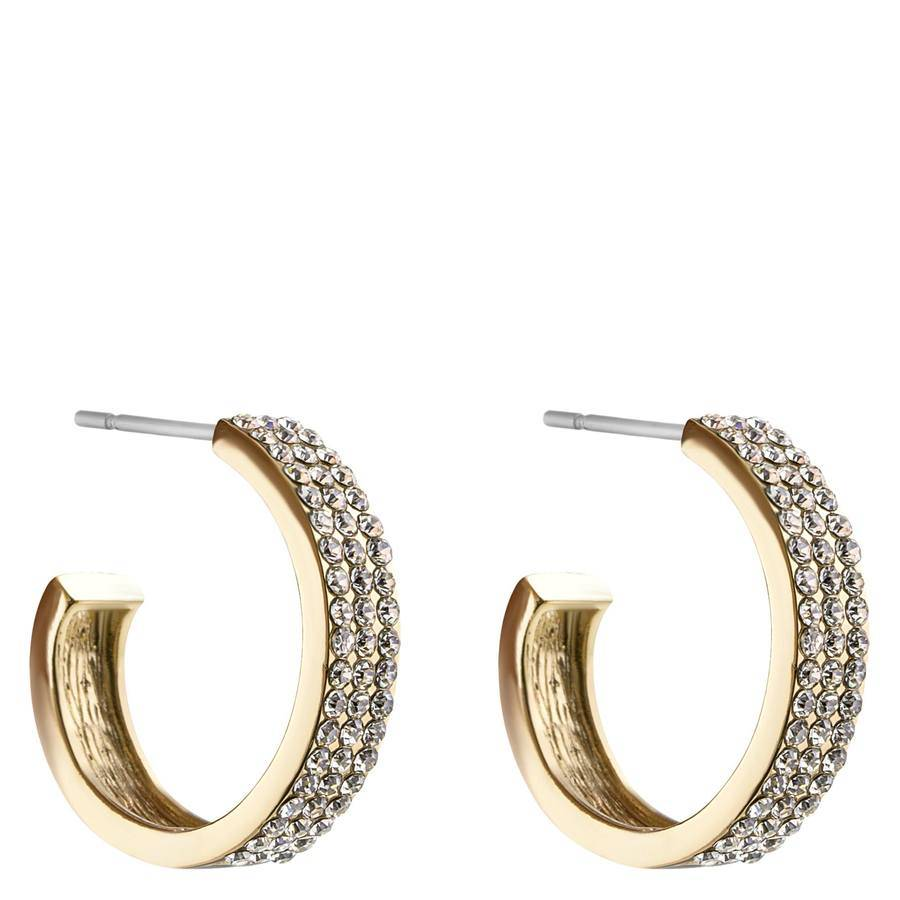 Snö Of Sweden Carrie Earring – Gold/Clear