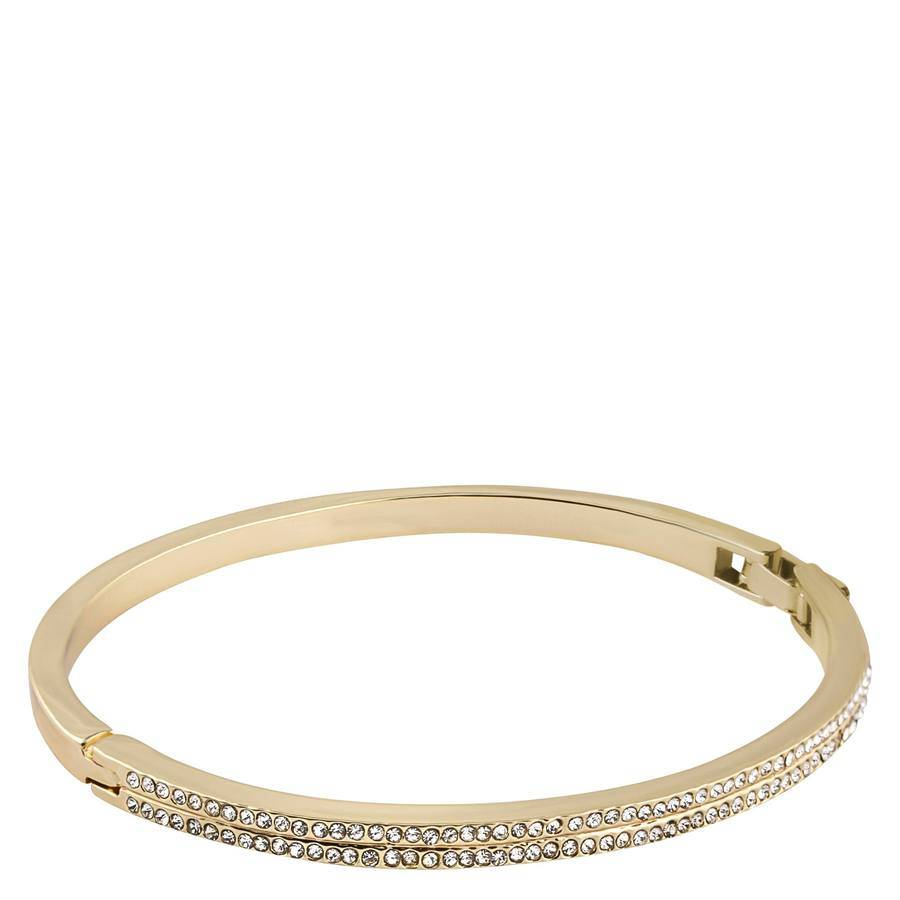 Snö of Sweden Carrie Oval Bracelet – Gold/Clear