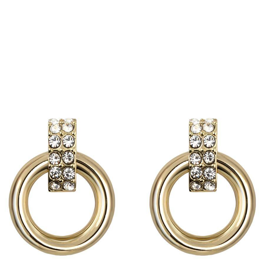 Snö Of Sweden Adara Small Earring – Gold/Clear