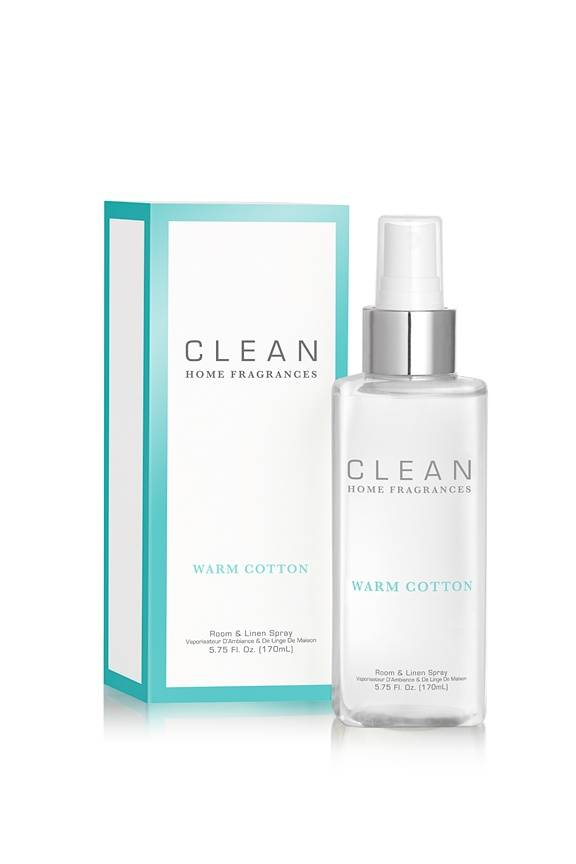 CLEAN Home Collection Warm Cotton Linen/Room Spray 170 ml