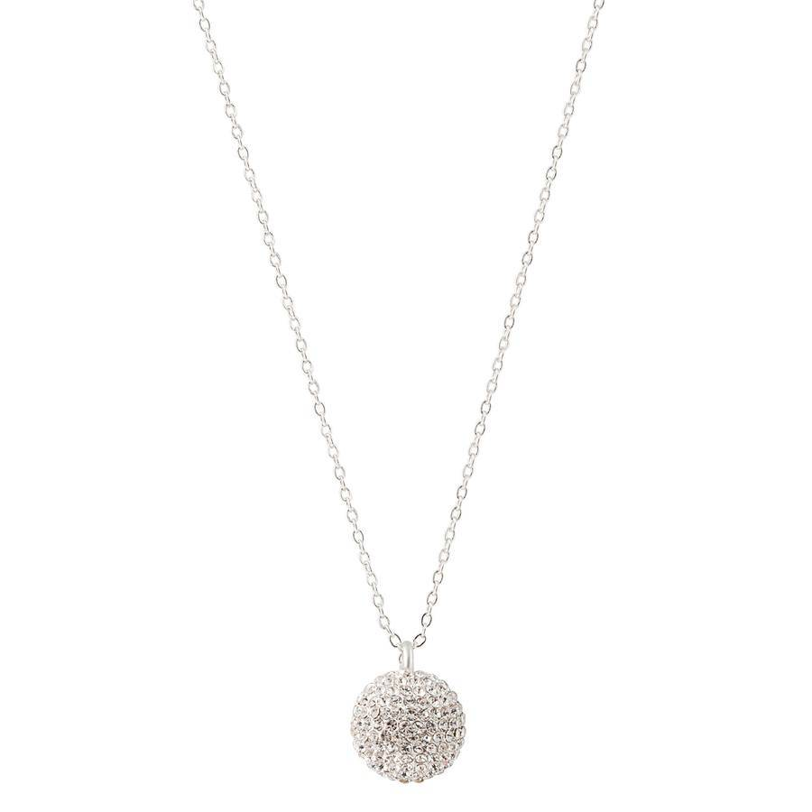 Snö Of Sweden Fair Pendant Necklace – Silver/Clear