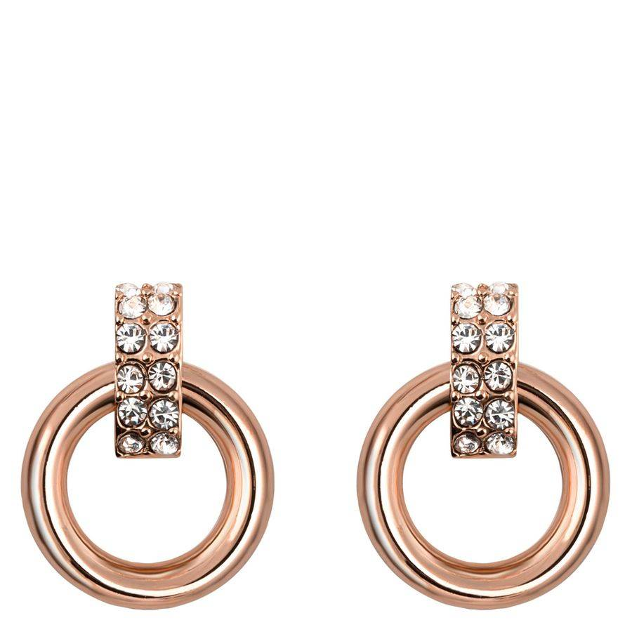 Snö Of Sweden Adara Small Earring – Rosé/Clear