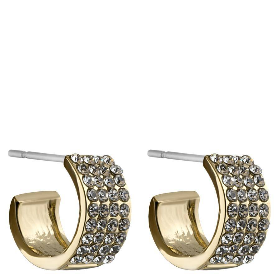 Snö Of Sweden Carrie Small Earring – Gold/Clear