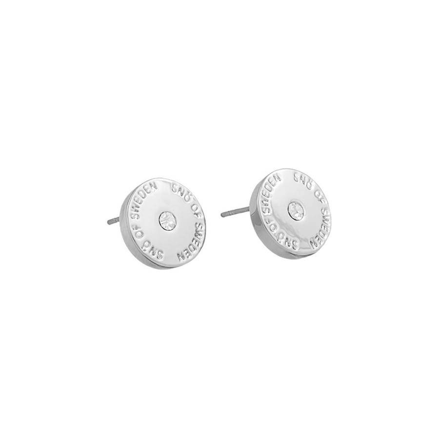 Snö Of Sweden Harly Small Earring - Silver/Clear