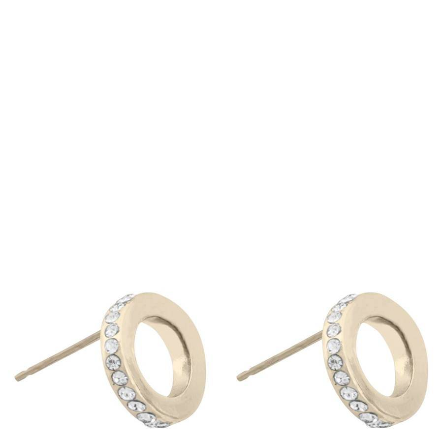 Snö Of Sweden Connected Earring – Gold/Clear